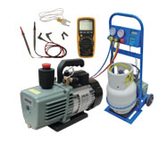 Auto Airconditioning Tools and Equipment